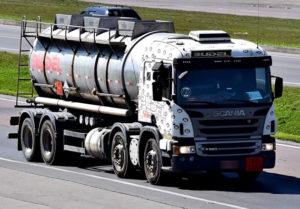 Budel Transportes, Caminhão Químico Truck